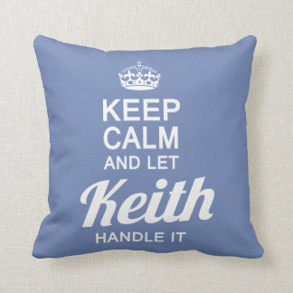 Let the Keith handle it! Throw Pillow