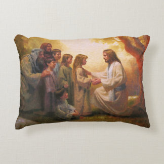 Let The Little Children Come to Me Accent Pillow