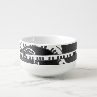 Let the music begin. soup bowl with handle