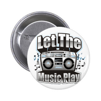 Let the Music PLay Pin