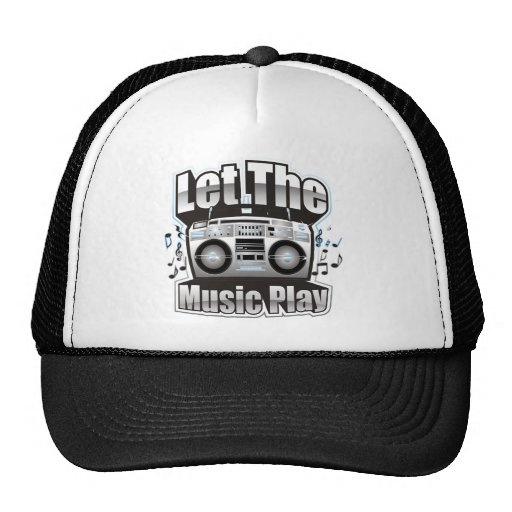 Let the Music PLay Mesh Hat