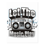 Let the Music PLay Postcards