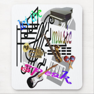 let-the-music-speak mousepad