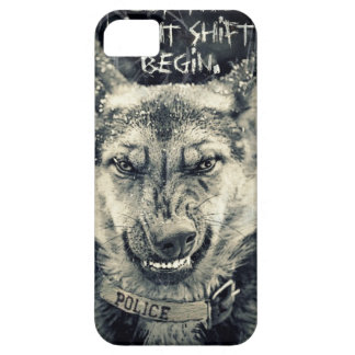let the night shift beginart iPhone 5 cover