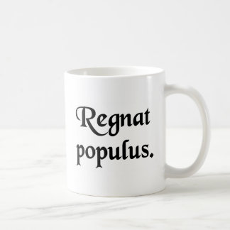 Let the People rule. Classic White Coffee Mug