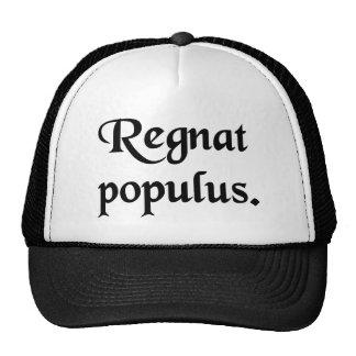 Let the People rule. Trucker Hats