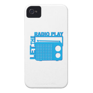 Let the Radio Play iPhone 4 Case-Mate Cases