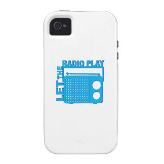 Let the Radio Play iPhone 4/4S Cases
