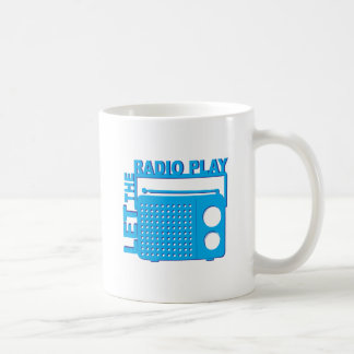 Let the Radio Play Coffee Mug