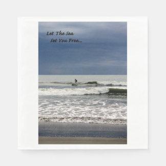 Let The Sea Set You Free Disposable Napkins