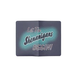 Let The Shenanigans Begin_ Pocket Moleskine Notebook