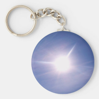 LET THE SUN SHINE keychain