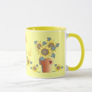 LET the SUNSHINE IN! by SHARON SHARPE Mug