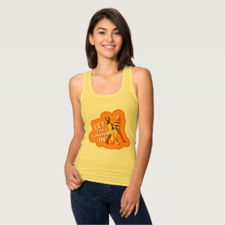 LET THE SUNSHINE IN TANK TOP