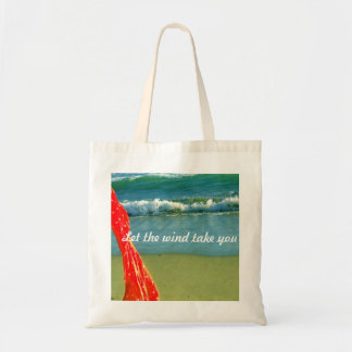 """""""Let the wind take you"""" tote bag"""