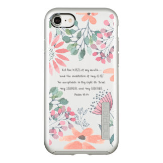 Let the Words of my Mouth - Ps 19:14 Incipio DualPro Shine iPhone 8/7 Case