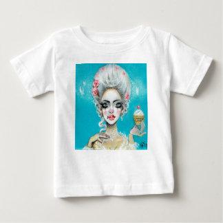 Let them eat cake mini Marie Antoinette cupcake Baby T-Shirt