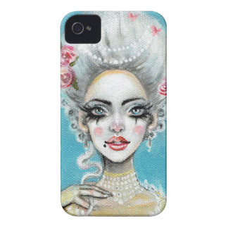 Let them eat cake mini Marie Antoinette cupcake Case-Mate iPhone 4 Case