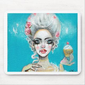 Let them eat cake mini Marie Antoinette cupcake Mouse Pad