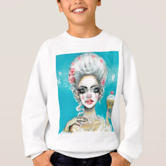 Let them eat cake mini Marie Antoinette cupcake Sweatshirt