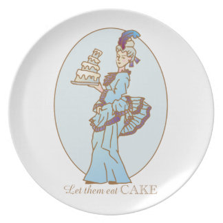 Let Them Eat Cake Plate