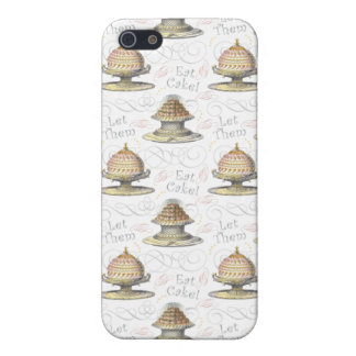 Let Them Eat Cake Vintage French Marie Antoinette Case For iPhone 5/5S