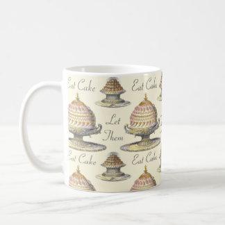Let Them Eat Cake Vintage Pastries - Vintage Style Coffee Mug