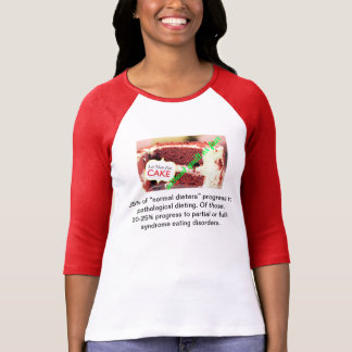 Let them Eat Cake Without Guilt or Fear T-Shirt