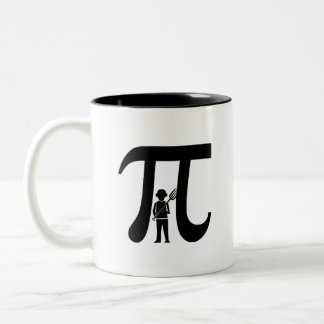 Let Them Eat Pi Two-Tone Coffee Mug