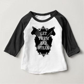 LET THEM EAT STEAK BABY T-Shirt