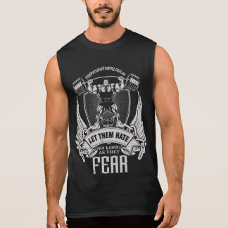 Let them fear singlet sleeveless shirt