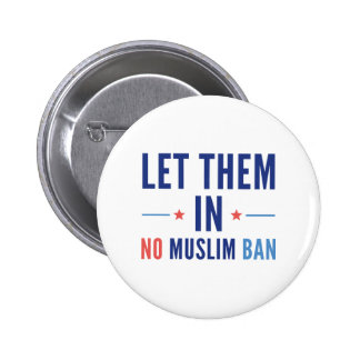 Let Them In 2 Inch Round Button