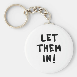 Let Them In! Keychain