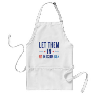 Let Them In Standard Apron