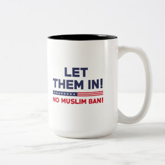 Let Them In! Two-Tone Coffee Mug
