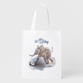 """Let Them Play"" Reusable bag"