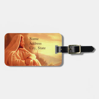 Let them Praise the name of the Lord Luggage Tag