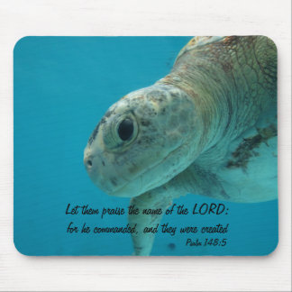 Let them praise the name of the LORD:... Mouse Pad