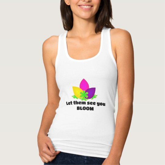Let them see you Bloom Tank Top
