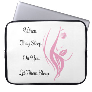 Let Them Sleep Neoprene Laptop Sleeve