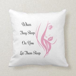 Let Them Sleep Pillow