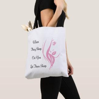 Let Them Sleep Tote Bag