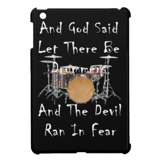 Let there Be Drummers iPad Mini Covers