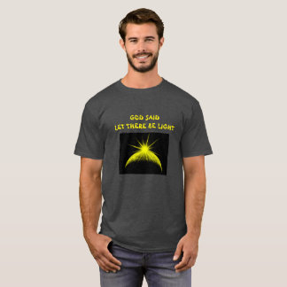 Let there be light mens t-shirt