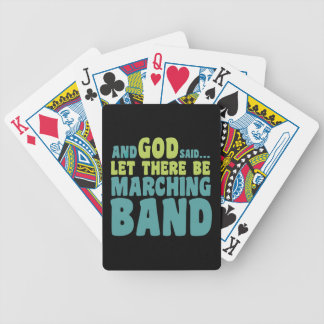 Let There Be Marching Band Bicycle Playing Cards
