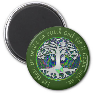 Let there Be Peace on Earth Magnet