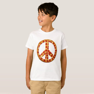 Let There be Pizza on Earth Kid's Light Tee