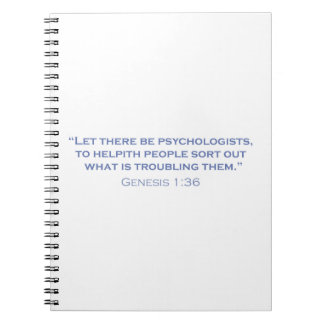 Let there be Psychologists Notebook