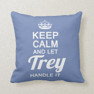 Let TREY Handle It Throw Pillow