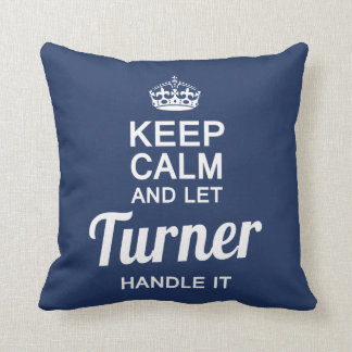 Let Turner handle It! Throw Pillow